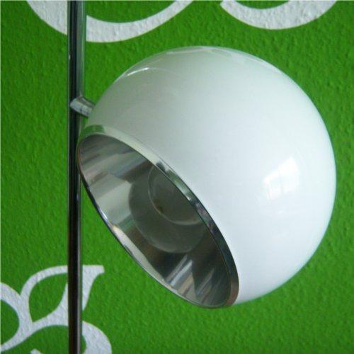 design 2 kugel stehleuchte lampe stehlampe leuchte wei ebay. Black Bedroom Furniture Sets. Home Design Ideas
