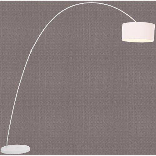 design bogenlampe stehlampe schwanenhals lampe weiss ebay. Black Bedroom Furniture Sets. Home Design Ideas
